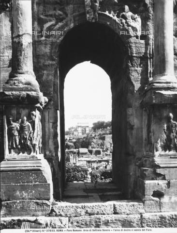 ACA-F-027033-0000 - Arch of Septimius Severus, Roman Forum, Rome