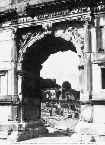 ACA-F-027035-0000 - Arch of Titus, Roman Forum, Rome