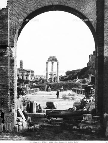 ACA-F-027042-0000 - Basilica Julia, Roman Forum, Rome