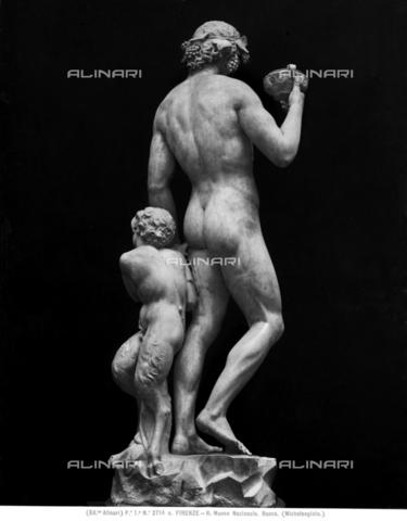 ACA-F-02714A-0000 - Bacco, marmo, Michelangelo Buonarroti (1475-1564), Museo Nazionale del Bargello, Firenze - Data dello scatto: 1890 ca. - Archivi Alinari, Firenze