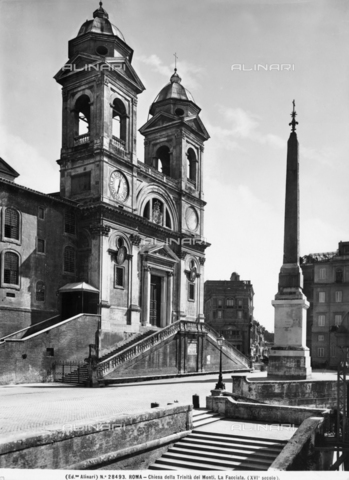 ACA-F-028493-0000 - Church of Trinità dei Monti, Rome