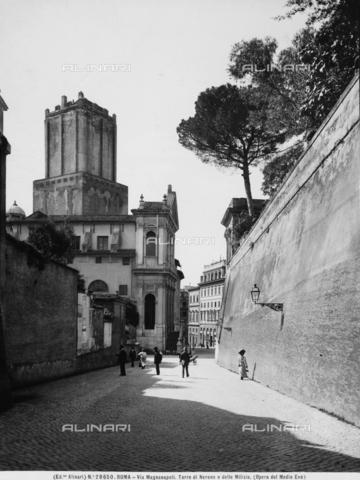 ACA-F-028650-0000 - Torre delle Milizie, Trajan's Forum, Rome
