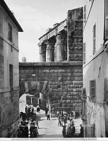ACA-F-028669-0000 - Arch of Pantani, Augustan Forum, Rome