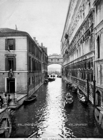 ACA-F-032031-0000 - Bridge of Sighs, Venice