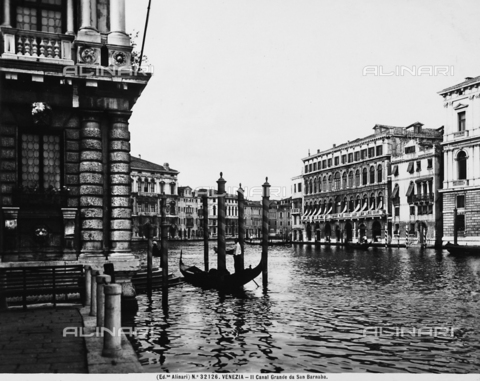 ACA-F-032126-0000 - The Grand Canal in Venice, seen from San Barnaba