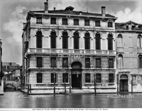 ACA-F-032190-0000 - Palazzo Civran on the Grand Canal, Venice.