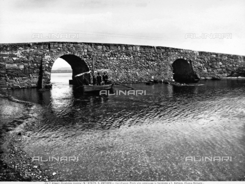 ACA-F-032679-0000 - Roman Bridge in the Island of Sant'Antìoco, Sardinia.