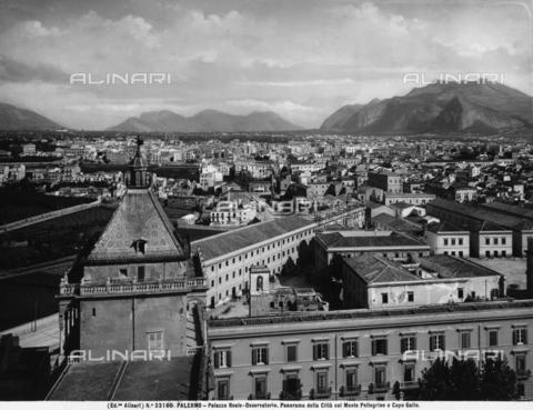 ACA-F-033160-0000 - Veduta della città di Palermo con sullo sfondo il monte Pellegrino