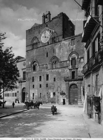 ACA-F-033230-0000 - Palazzo Chiaramonti, or Palazzo Steri, Palermo