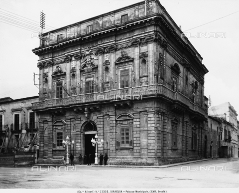 ACA-F-033333-0000 - Palazzo Vermexio, formerly Palazzo del Senato, Syracuse