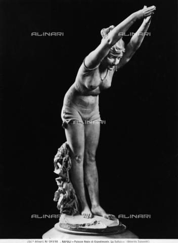 ACA-F-034398-0000 - La Tuffolina: opera di Odoardo Tabacchi, conservata al Museo Nazionale di Capodimonte di Napoli - Data dello scatto: 1920-1930 ca. - Archivi Alinari, Firenze