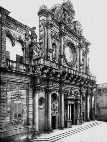 ACA-F-035417-0000 - Chiesa di Santa Croce, facciata, Lecce