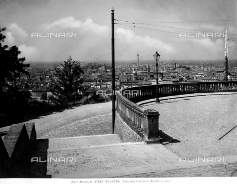 ACA-F-037825-0000 - View of the city of Bologna seen from the piazzale in front of the monastery of S. Michele in Bosco.