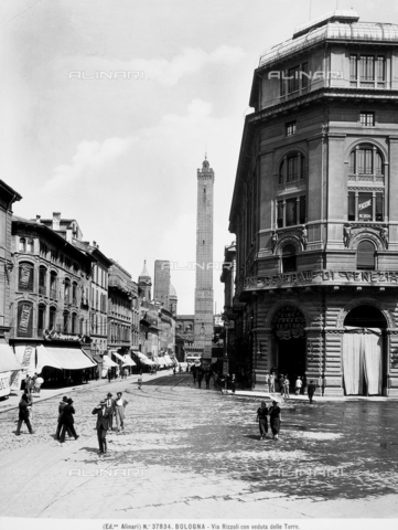 ACA-F-037834-0000 - The Asinelli Tower in Bologna