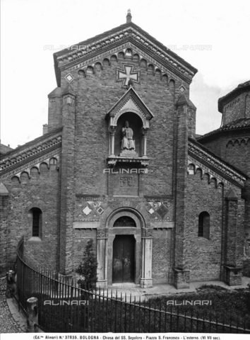 ACA-F-037835-0000 - Church of Santo Sepolcro, Bologna.