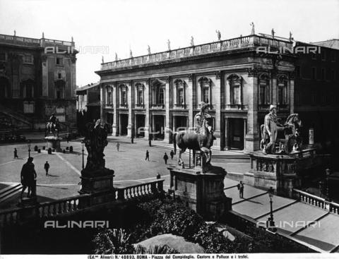 ACA-F-040893-0000 - The Dioscouri, in Piazza del Campidoglio, in Rome, Lazio