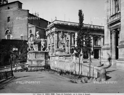 ACA-F-040894-0000 - The Dioscouri, in Piazza del Campidoglio, in Rome, Lazio
