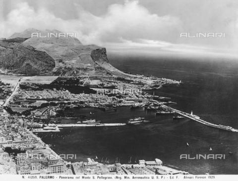 ACA-F-041259-0000 - Veduta di Palermo con il Monte S.Pellegrino