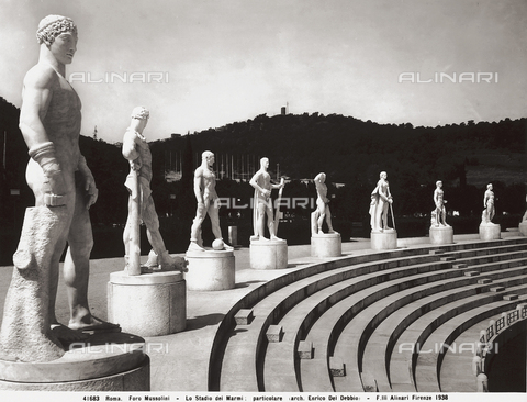 ACA-F-041683-0000 - the Foro Mussolini, Rome, Lazio