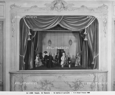 ACA-F-041945-0000 - Theater of marionettes, Ca' Rezzonico, Venice
