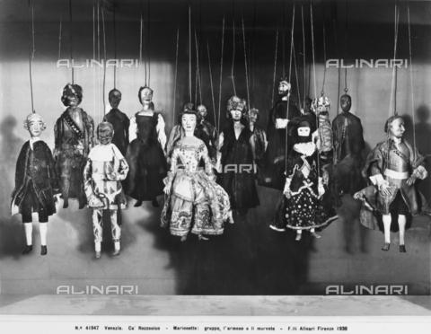 ACA-F-041947-0000 - Marionettes, Ca' Rezzonico, Venice
