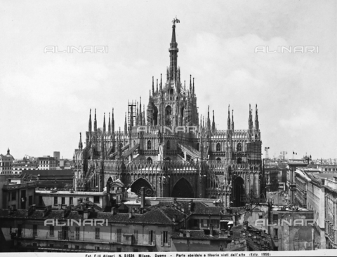 ACA-F-051634-0000 - Base of the cupola, Cathedral, Milan