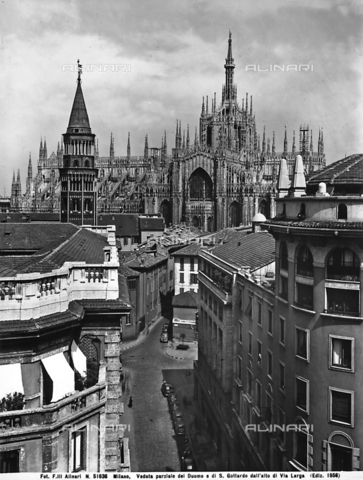 ACA-F-051636-0000 - Bell tower, Church of San Gottardo in Corte, Milan
