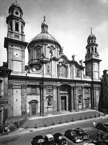 ACA-F-051706-0000 - Facade, Church of Saint Alexander, Milan