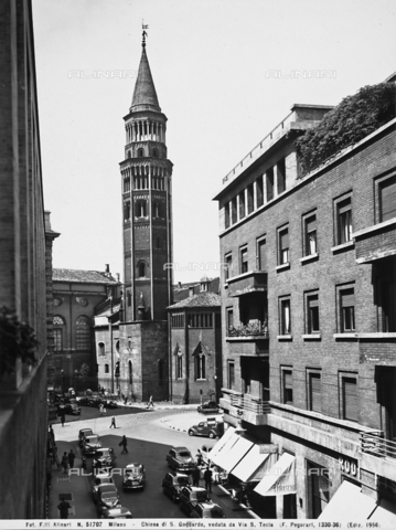 ACA-F-051707-0000 - Bell tower, Church of San Gottardo in Corte, Milan
