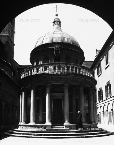 ACA-F-054310-0000 - The Tempietto by Bramante - Church of San Pietro in Montorio, Rome
