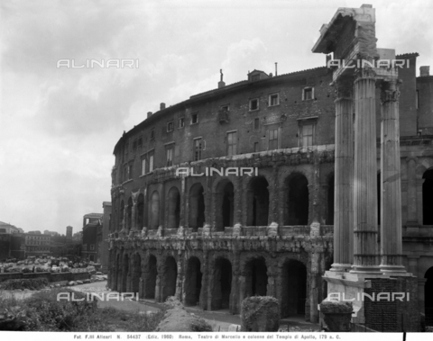ACA-F-054437-0000 - Theater of Marcellus, Rome
