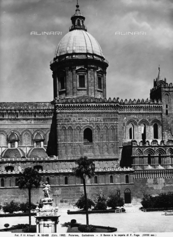 ACA-F-055403-0000 - Cupola, Cattedrale, Palermo