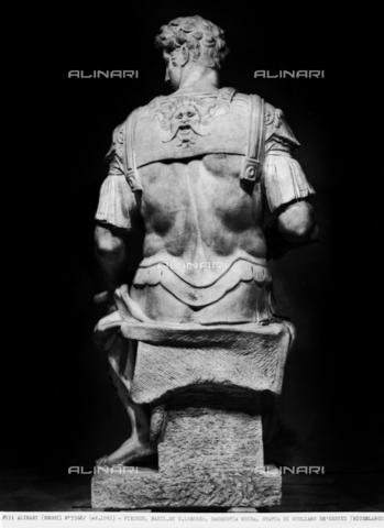 ACA-F-055682-0000 - Statue of Giuliano de'Medici, monument to Giuliano de'Medici, Duke of Nemours, New Sacristy, Medici Chapel, Basilica of San Lorenzo, Florence