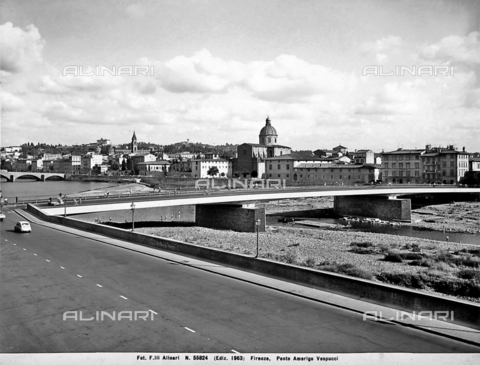 ACA-F-055824-0000 - View of Amerigo Vespucci bridge, Florence