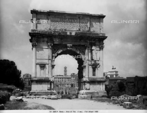 ACA-F-05837a-0000 - Arch of Titus, Roman Forum, Rome
