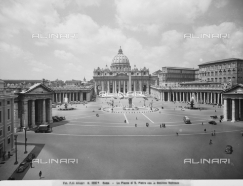 ACA-F-05897A-0000 - St.Peter's Basilica -St.Peter's Square, Rome- Vatican City