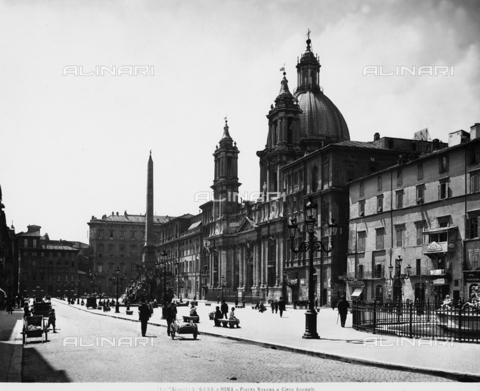 ACA-F-06699A-0000 - View of Piazza Navona, in Rome