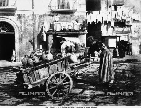 ACA-F-11651A-0000 - Water seller in Naples