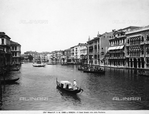 ACA-F-12405A-0000 - View of the Grand Canal in Venice