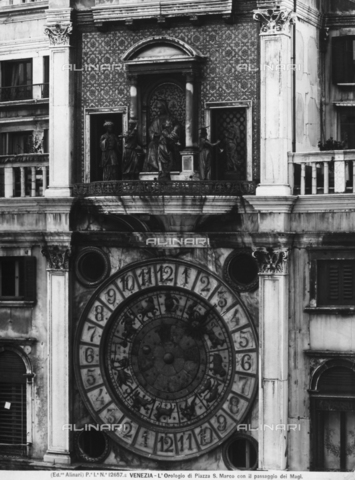 ACA-F-12657A-0000 - Clock, St. Mark's Square, Venice