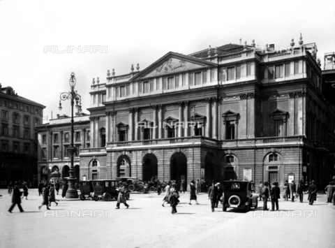 ACA-F-14277A-0000 - La Scala Opera House, Milan