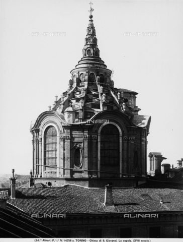 ACA-F-14758A-0000 - Dome of the Chapel of the Holy Shroud, Cathedral, Turin