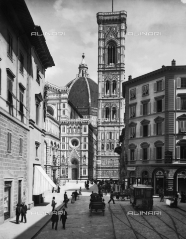 "ACA-F-17139V-0000 - Bell tower of Cathedral of Santa Maria del Fiore, called ""Campanile di Giotto"", Florence"