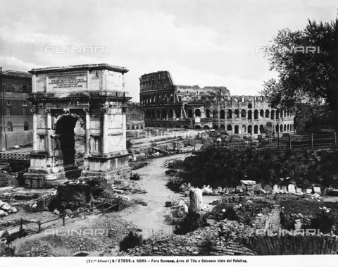 ACA-F-27039A-0000 - Arch of Titus, Roman Forum, Rome