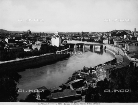 ACA-F-27967A-0000 - View of Rome and the Tiber which passes through it