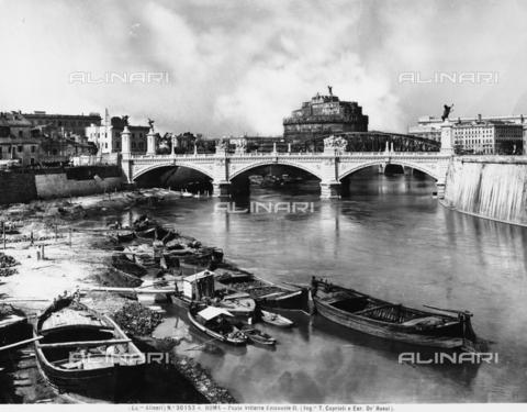 ACA-F-30153A-0000 - Victor Emanuel II Bridge, Rome