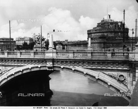 ACA-F-30153B-0000 - Victor Emanuel II Bridge, Rome