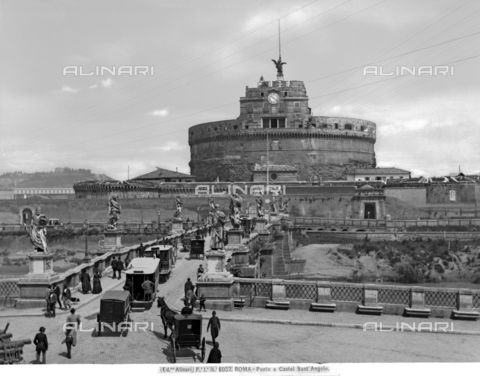 ACA-F-6057VN-0000 - Pons Aelius, Bridge of S. Angelo, Rome.
