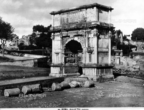 ADA-F-000022-0000 - Arch of Titus, Roman Forum, Rome
