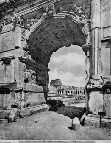 ADA-F-000279-0000 - Arch of Titus, Roman Forum, Rome